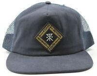 Roark Mens Speed Trucker Mesh Snapback Hat Navy One Size New