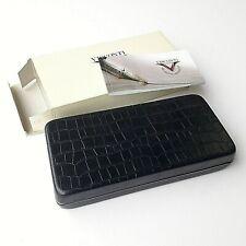 Original Visconti Empty Black Pen Box NOS Mint with General Int Guaranty