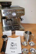 Breville BES870XL Barista Express Automatic Espresso Machine Grinder #e103