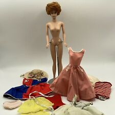 VINTAGE 1960's Early Titan Red Bubble Cut Barbie Japan  Plus Clothing Beautiful