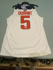 KEVIN DURANT SIGNED  White Nike USA JERSEY JSA certified Auto