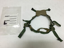 GENTEX ACH #ELMET 4 POINT REPLACEMENT CHIN STRAP WITH HARDWARE L/XL NEW MSA