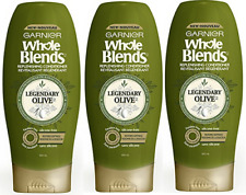 Garnier Whole Blends Replenishing Cond Lgndry Olv, Dry Hair, 22 fl oz.( 3 Pack)