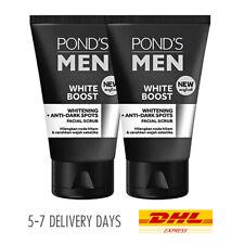 [POND'S] Men White Boost Face Soap Scrub Remove Blackhead White Ginseng 2x1...