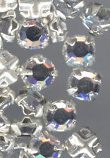 50 Swarovski Crystal AB Rose Montees 12SS 3mm SM6