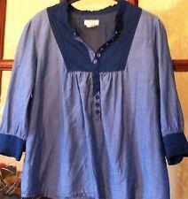 Tunique Bleu Denim H&m Taille 38/40