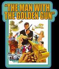 70's James Bond 007 Classic The Man with the Golden Gun Poster Art custom tee