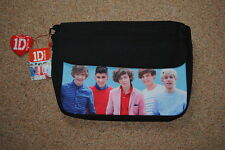 ONE DIRECTION BAND SHOT Messenger Bag Bnwt Ufficiale 1D Niall Horan Harry Styles