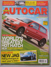 Autocar 5/7/2005 featuring Lexus RX400, Porsche Cayman, Citroen, Peugeot, Toyota