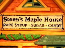 New England Dept 56 Steen'S Maple House! 56579 NeW! Mint! FabUloUs!