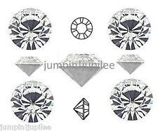 18ss 4.3mm Crystal Clear Swarovski Chaton Pointed Back Rhinestone 1028 12 pieces