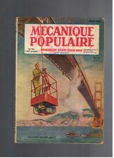 MECANIQUE POPULAIRE N°39 1949 echafaudage araignee