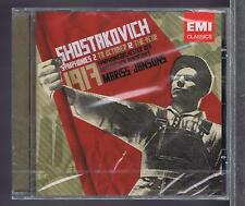 SHOSTAKOVICH CD NEW JANSONS SYMPHONIES 2 & 12