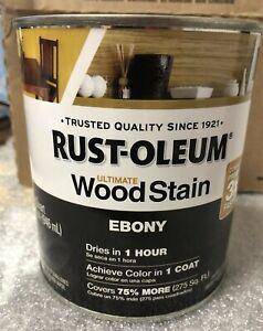 Rust-Oleum 205578 Ebony Ultimate Interior Wood Stain 32 fl. oz. (1 Quart)