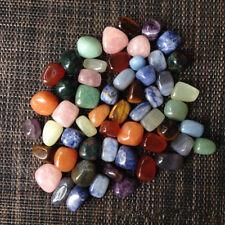 7pcs/Set Palm Natural Stone Chakra Stones Reiki Healing Crystals Gemstones Decor