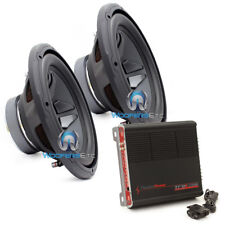 """pk 2 FOCAL RIP-300S 12"""" SUBWOOFERS SPEAKERS + PPI TRAX1.1200D MONOBLOCK AMP NEW"""