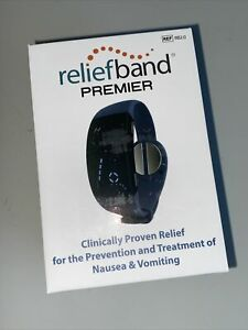 Reliefband Premier (REF RB2.0) Drug Free Relief Wristband Nausea Vomiting Cruise