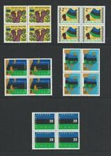 ZANZIBAR - SG434-47 - 1964 definitive set in MNH blocks of 4
