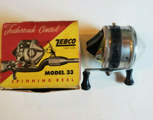 ZEBCO MODEL 33 SPIN CASTING REEL WITH BOX