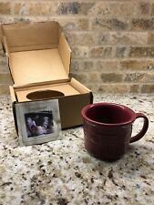 Nib Longaberger Souper Mug In Paprika - Brand New