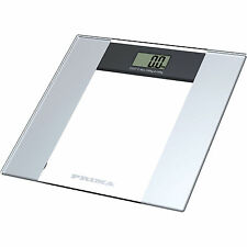 150 kg Electonic Glass Scale 15.5  28.8mm LCD Display  6mm temperaed Glass