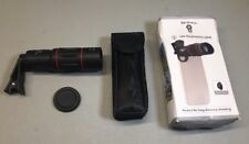 Cell Phone Lens Universal 18X Optical Zoom Manual Telescope W/ Clamp READ