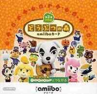 Nintendo Animal Crossing amiibo card pack 2nd series Box JAPAN OFFICIAL IMPORT
