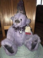 OOAK Lori Simon rabbit fur bear in lilac.