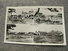 Cumbria Real photo postcard -- Nice Silloth-on-Solway scenes Nr Wigton