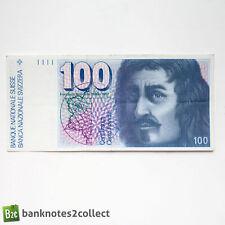 SWITZERLAND: 1 x 100 Swiss Franc Banknote.
