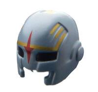 Lego Helm in silber (flat silver) Stern rot Augen schwarz 17014pb01 Kappe Neu
