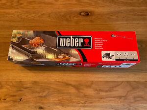 NEU! Weber Drehspieß Rotisserie elektrisch für Spirit Reihe 200 300 in OVP