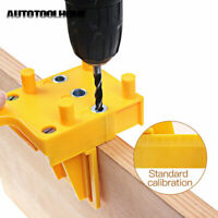 HOT Doweling Jig Self Centering Wood Dowel Tool Clamp tool Precise Drilling US X