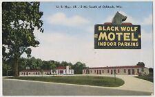 Black Wolf Motel, Oshkosh, Wisconsin