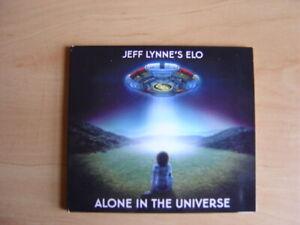 Jeff Lynne's ELO:  Alone In The Universe - Original CD. Digipak.