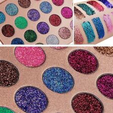 Kara Pressed Glitter Palette Unicorn Rainbow Eyes Make Up ES16 Color Galaxy
