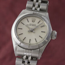 Rolex LADY OYSTER PERPETUAL ACCIAIO AUTOMATICO OROLOGIO 6623 VP: 4400,- €