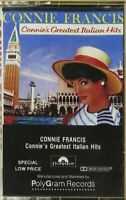 Connie Francis - Greatest Italian Hits (Cassette)