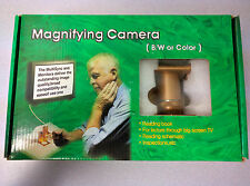 OC 185 Color NTSC Magnifying Camera / Reading Aid