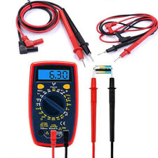 1Pair Set Red Black Probe Test Leads Cable for Mutimeter Multi Meter Pen Cable