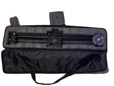 Axler 30� Pro camera Slider With Flywheel And Case Carbon Fiber Dolly