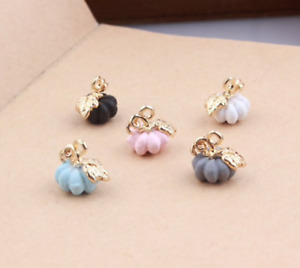 Pumpkin Charms  charms for bracelet  charms for necklace  Jewellery making