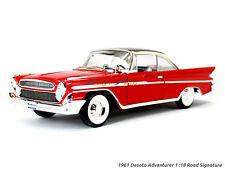 1961 Desoto Adventurer red 1:18 Yatming Road Signature diecast Scale Model car