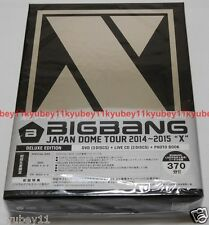BIGBANG JAPAN DOME TOUR 2014 2015 X DELUXE EDITION DVD Live CD Photobook New F/S