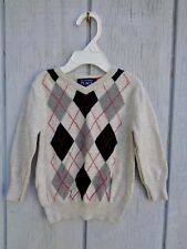 The Children's Place Sweater Baby Boys Size 12 - 18 Knitted Jacket  Plaid