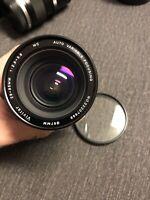 VIVITAR 28-85 mm 1:2.8 3.8 MC Auto Variable Focusing Camera Lens