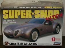 Lindberg 1/25 Scale Chrysler Atlantic - Super-Snap Ultra - Factory Sealed