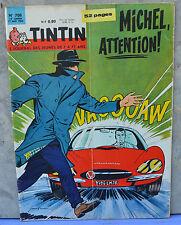 Journal Tintin n°708, 17 mai 1962,  Michel Vaillant à la une, Jean Graton