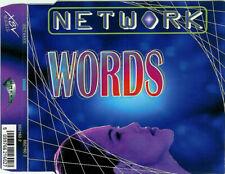 NETWORK - Words 4TR CDM 1995 HAPPY HARDCORE / RARE!!!