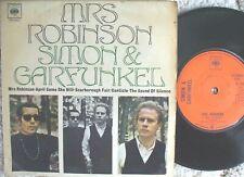 Simon & Garfunkel - Mrs Robinson / Silence / Scarborough / Canticle  U.K EP